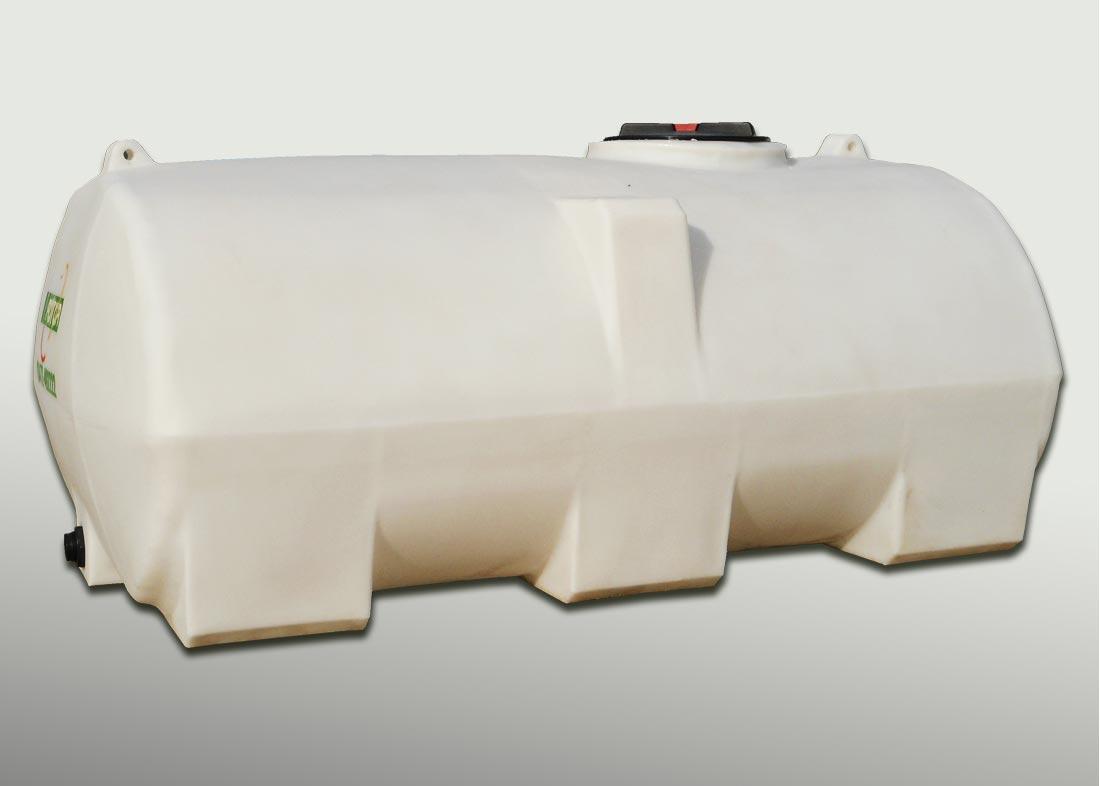 Tanque de pl stico horizontal grandes tanques rotor srl for Piscicultura en tanques plasticos